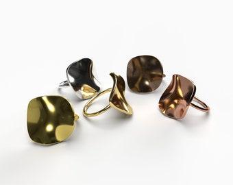 Geometric Ring - Warped