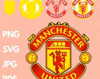 Manchester United Svg Etsy