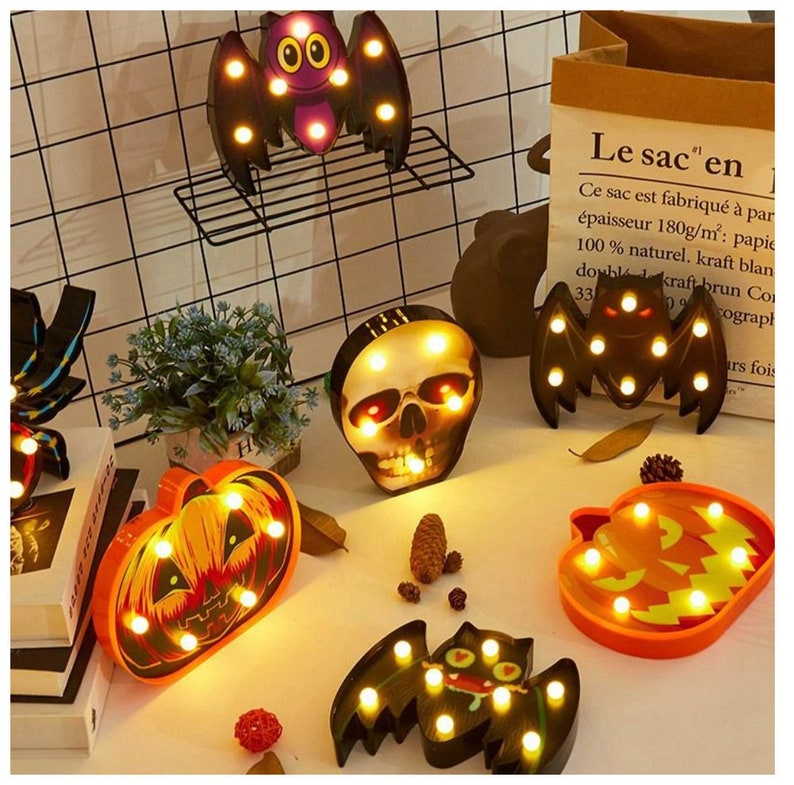 Halloween Decorative LED Lights Indoors or Outdoors Childs image 0