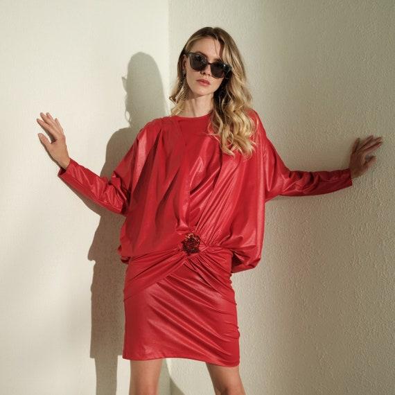 80s Avant Garde Mini Dress