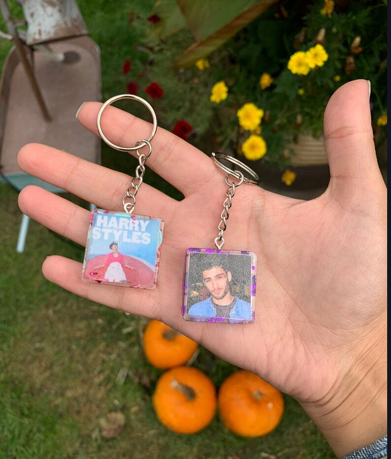 One Direction Keychains