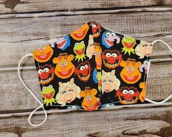 ANGERIA Beaker The Muppets Face Safety Washable and Reusable Adjustable Scarf Balaclava for Protection