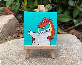 Mini Canvas Painting Etsy