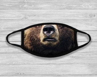 Rainbow Bear Mask In Roblox Bear Mask Etsy