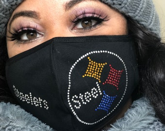 Steelers Mask Etsy
