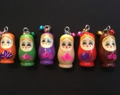 Matryoshka Nesting Doll s necklace, nesting doll s jewelry, Matryoshka jewelry, Russian nesting dolls and they make a darn good gift
