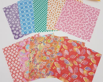 Toyo Washi type Double side Chiyogami Origami papers 15cm 018060 from Japan