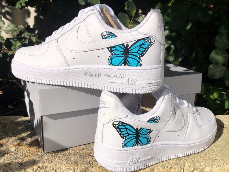 Farfalla personalizzata Nike airforce 1 gQQ4Yy66