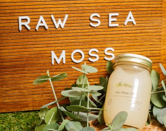 Reiki-Infused Organic Raw Irish Sea Moss Gel: Fresh Handmade To Order- 32 Oz