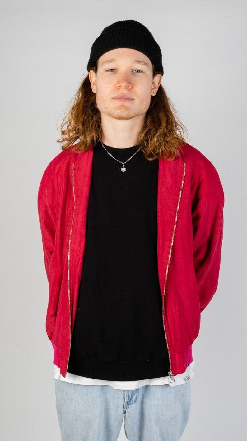 Vintage bomber jacket in L