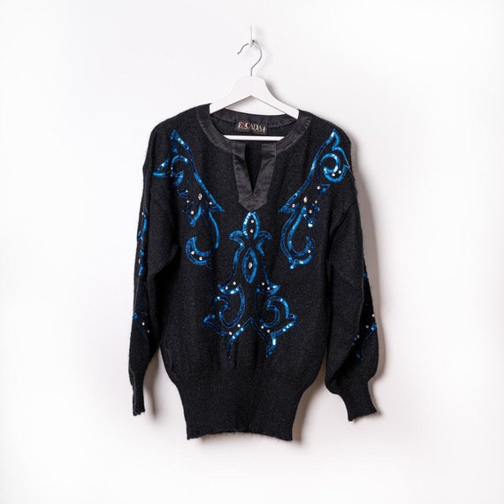 Escada sweater with sequins
