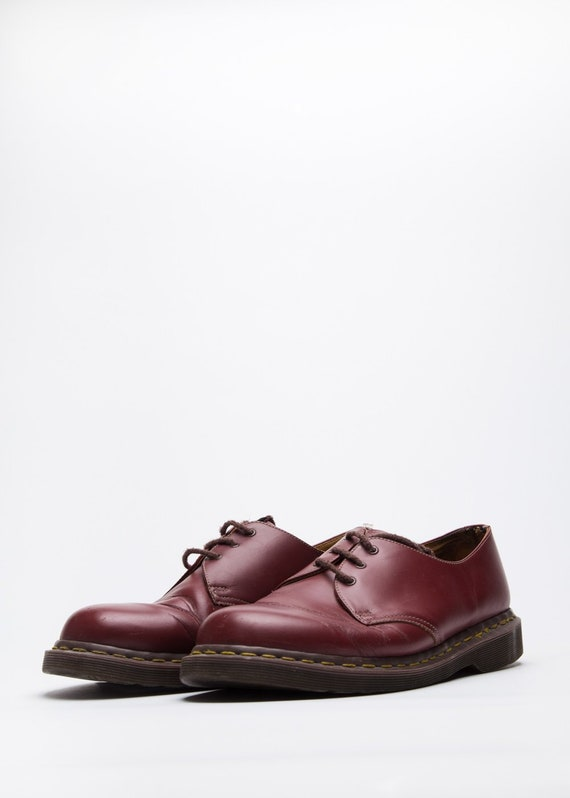 Dr. Martens Men's Shoes in Red