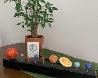 Solar System Model | Montessori Gift | Space | Montessori Educational | Planets | support writing | fine motor