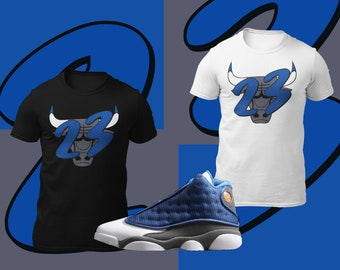 Jordan 13 Shirt Etsy