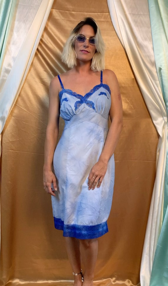Tie Dye Slip Dress L | Vintage Slip Dress Large |