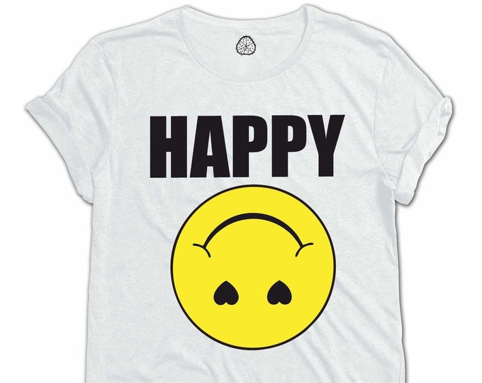 HAPPY Organic Cotton T-Shirt Design