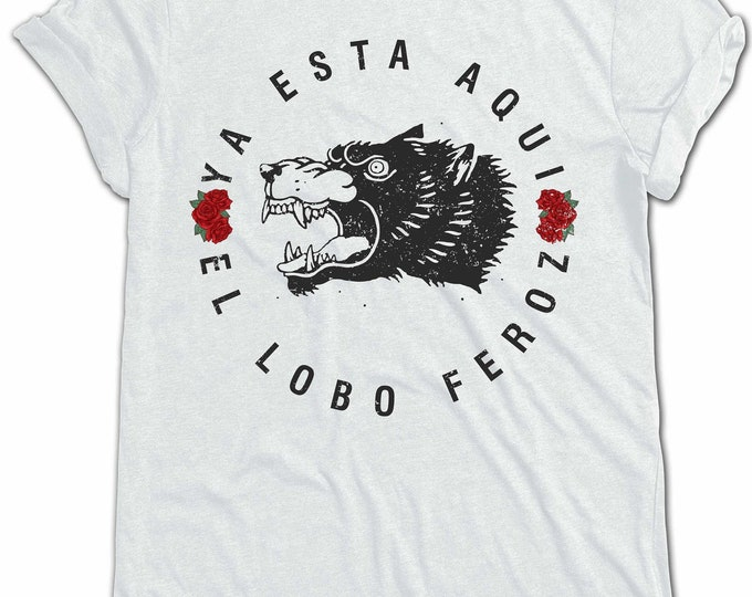 THE LOBO FEROZ Organic Cotton T-Shirt Design