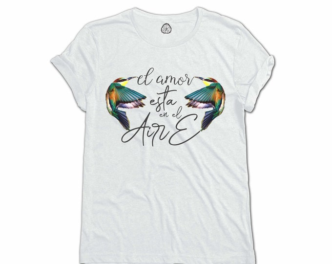 LOVE IS in the AIR Organic Cotton T-Shirt Design