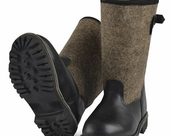 Original Russian felt boots valenki for ice fishing,hunting.russian winter boots felt leather shoes boots wery warm