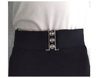 Metal belt buckle for 50 mm belt plug buckle
