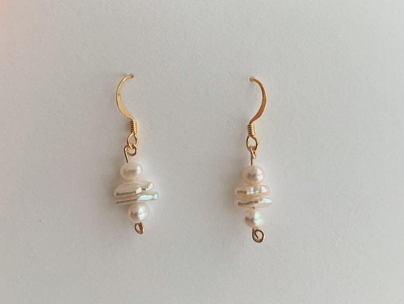Gold /& Freshwater Pearl Stack