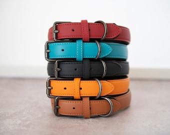 Soft Padded Leather Dog Collar