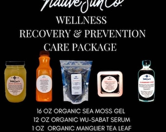 Wellness Prevention and Recovery care package