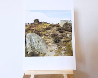 Photograph Print taken on Curbar Edge, Peak District