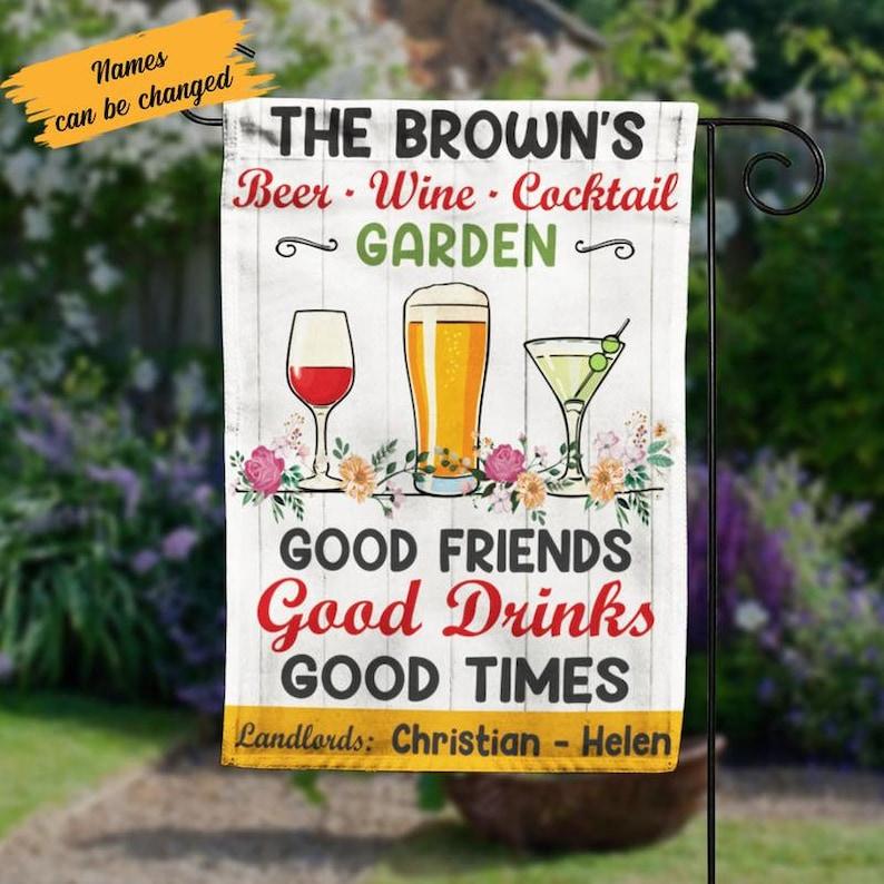 Gearhuman – Beer Wine Cocktail Garden Good Friends Good Drinks Good Times