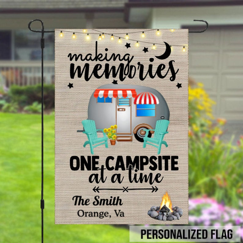 Gearhuman – Making Memories One Campsite At A Time Personalized Garden