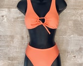 Coral Set S top and bottoms