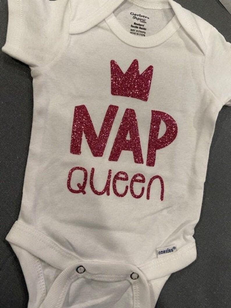 Nap Queen onesie