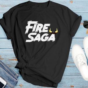 New Classic T-Shirt Eurovision Fire Saga Volcano Man Ferrell size S-3XL