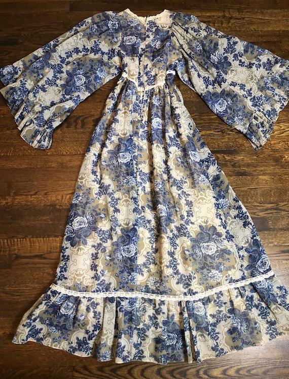 1970's Vintage Gunne Sax Dress - image 8