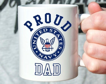 Dad Shirt Navy Pride Military Family Father\u2019s Day Gift Gift for Military Dad United States Navy USN Proud Navy Dad Military Parent