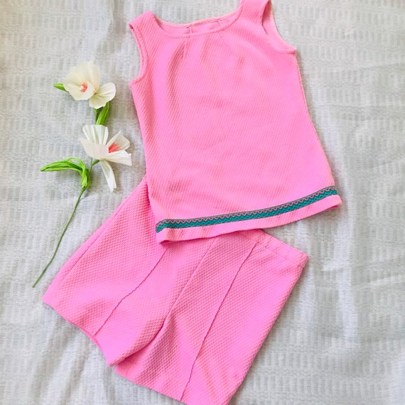60's Bubblegum Textured Play Set Separates