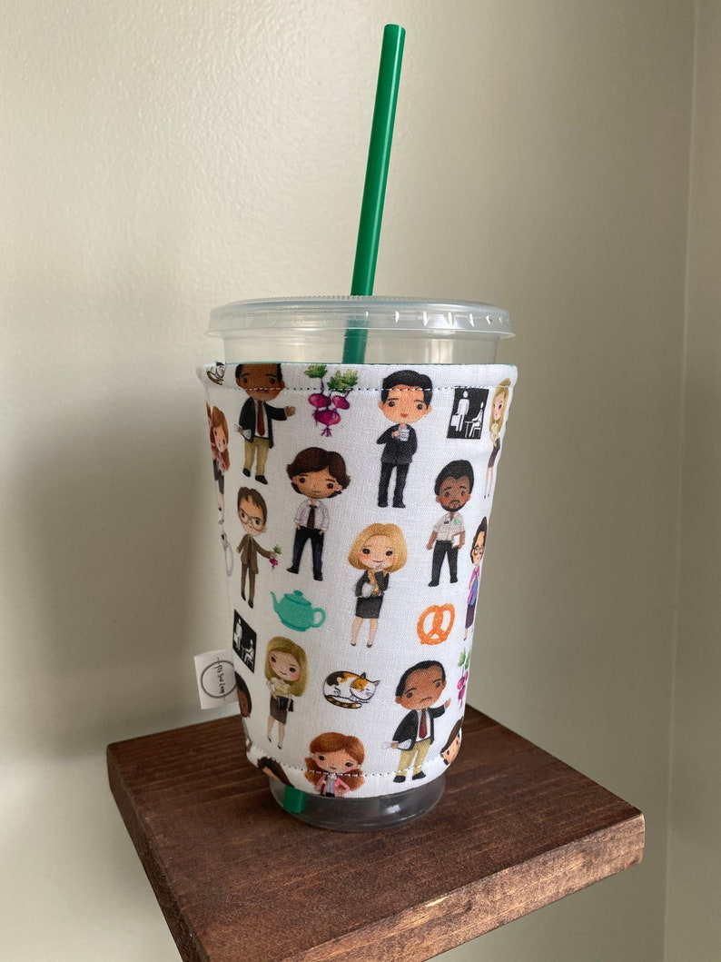 The Office Coffee Sleeve  Specialty Fabric image 0