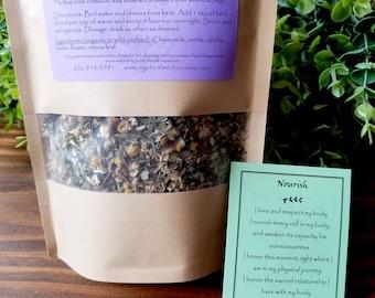Nourish Tea Blend, Vitamin Tea Blend, Nutrient Tea Blend, Whole Body Nourishing Tea, Vitamin and Mineral Tea Blend, Immune Support Tea