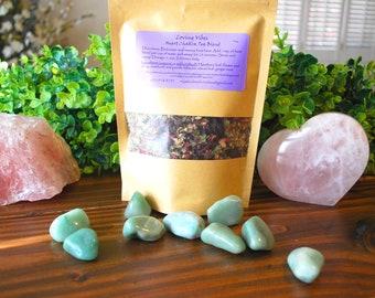 Heart Chakra Tea Blend, Heart Health Tea, Heart Nourishing Tea, Circulatory System Tea, Bioflavanoids