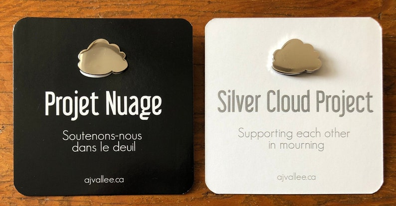 Pin Silver Cloud Project Supporting each other in image 0