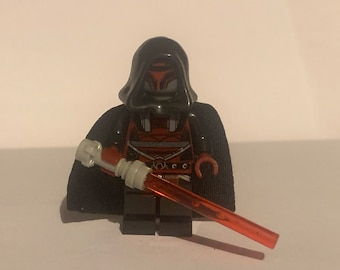 Sith Infantry Trooper Black Star Wars Minifigure Stand The Old Republic KOTOR
