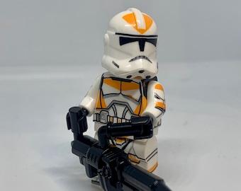5 Custom 212th Clone Troopers Minifigure Star Wars Lot Building Blocks