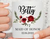 Maid of Honour Gift, Bridesmaid Mug, Mother of the Bride Gift, Bridal Party Mugs, Bridesmaid Gift, Mother of the Groom Gift, Bride to be mug