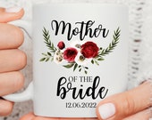 Mother of the Bride Gift, Bridal Party Mugs, Bridesmaid Mug, Maid of Honour Gift, Bridesmaid Gift, Mother of the Groom Gift, Bride to be mug