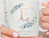 Bridal Party Mugs, Bridesmaid Mug, Maid of Honour Gift, Bridesmaid Gift, Mother of the Groom Gift, Mother of the Bride Gift, Bride to be mug
