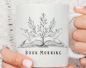 Gifts For Readers, Custom mug personalised, Coffee Mug, Name Mug, Mug For Reader, Literary Gifts, Personalized Mug, Just One More Chapter,