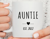 Future Aunt Gift, Sister Auntie gift, Promoted to Aunt, Pregnancy Gift, Baby Announcement, Sisters Surprise Gift, Cute Aunt Mug, Baby Reveal