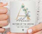 Bridesmaid Gift, Mother of the Bride Gift, Maid of Honour Gift, Mother of the Groom Gift, Bridesmaid Mug, Bridal Party Mugs, Greenery