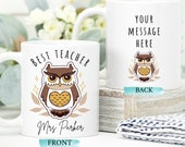End of Term Gifts For Teachers, Personalised Teacher Mug, Teacher Gift, End Of Year Present Gift, Appreciation Gift, School Leaving Gift