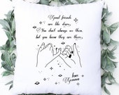 Friends Are Like Stars, For Best Friend, Friendship Quote, Gift For Best Friend, Personalised Gift BFF, Christmas Gift, Friend Birthday Gift